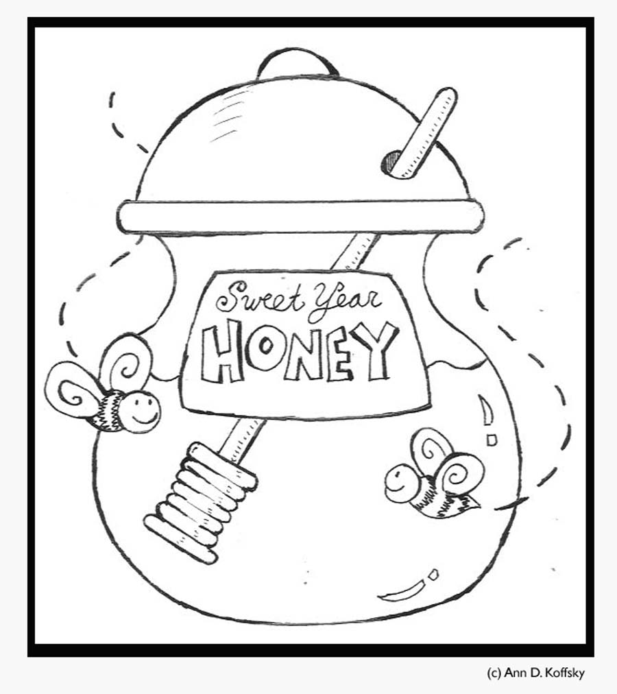 mrs honey coloring pages - photo#18
