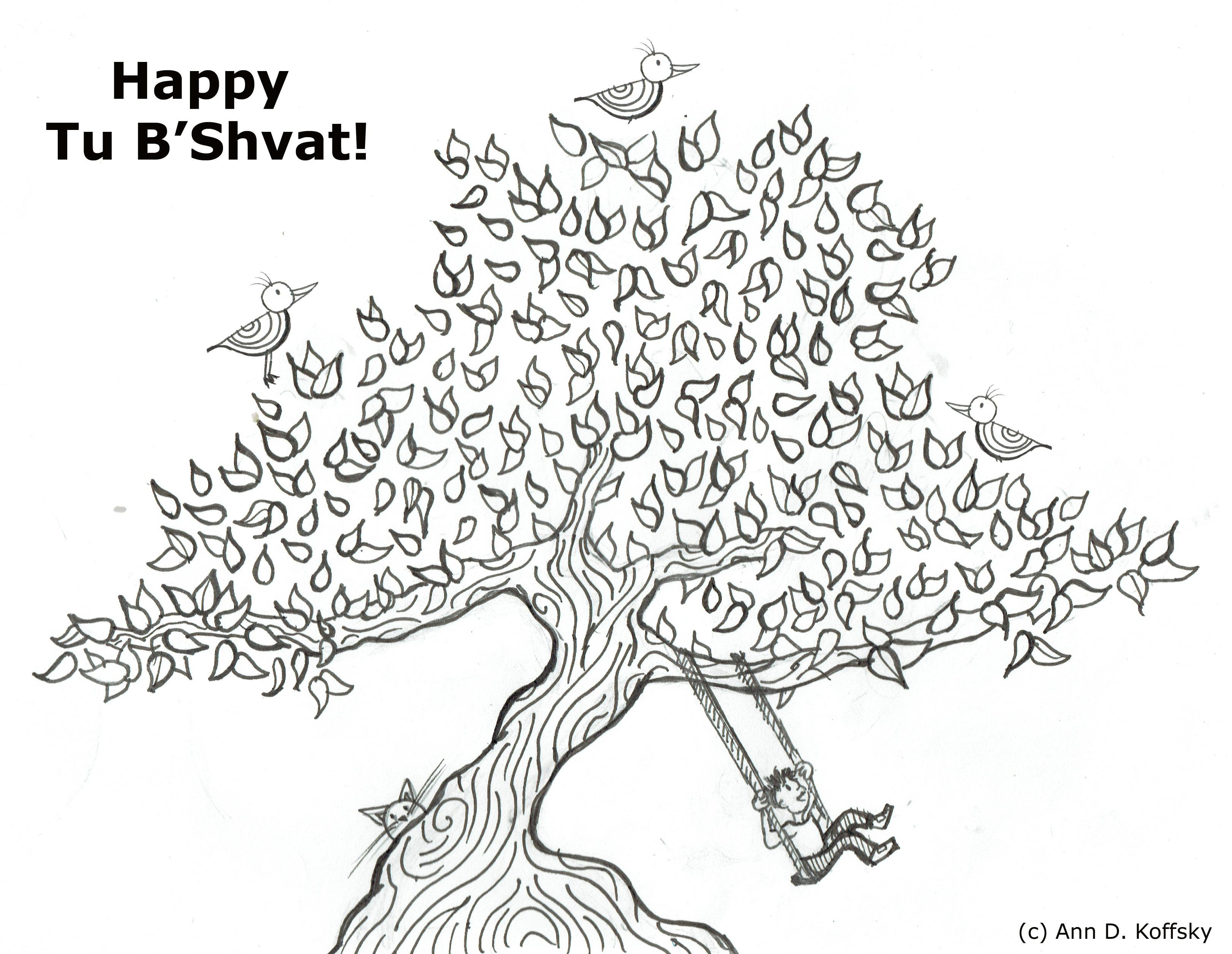 tu b shvat coloring pages - photo#14
